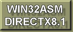 Win32ASM DirectX8.1